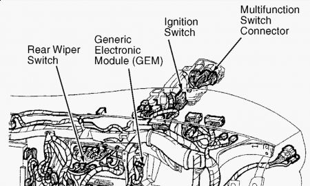 2002 ford taurus wiring diagram falcon ef stereo 1998 windstar gem module i have a 98 gl the front http www 2carpros com forum automotive pictures 62217 1 18