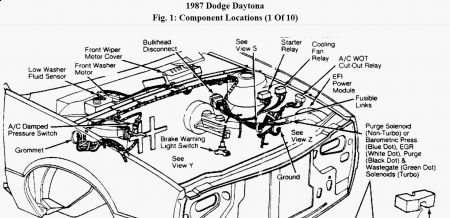 1987 Dodge Daytona Fuel Pump Relay: Electrical Problem