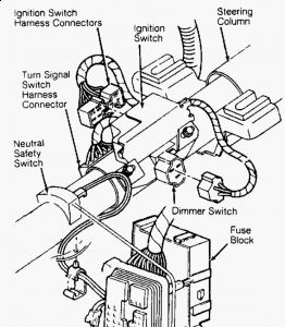 Ignition Keylock Cylinder: Electrical Problem 6 Cyl Two