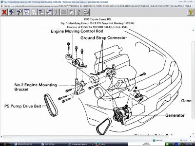 Toyota power steering problem