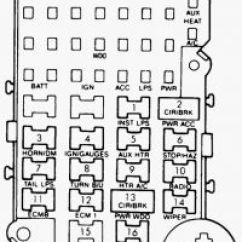1995 Chevy S10 Starter Wiring Diagram 120v Transformer 1990 Astro Van Fuse Box