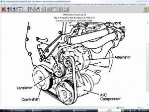 1994 Pontiac Grand Am Belt Routing Diagram: I Got the