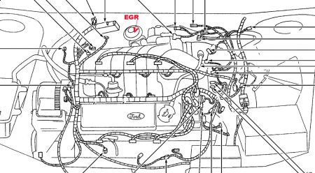 1998 Ford Taurus EGR Issue: I Have Gotten a P401 Code, and