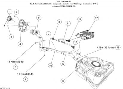 2007 Ford Focus Fuel System Diagram. i relaced the