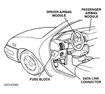 2001 Dodge Neon Camshaft Senor, Door Fuse Light