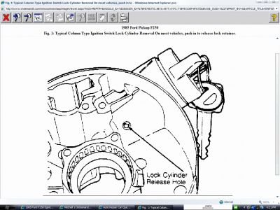 1981 Ford F250 Replacement of Ignition Switch: I Need to