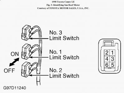 Wiring Diagram PDF: 2003 Camry Sunroof Wiring Diagram