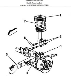 2003 Oldsmobile Alero Suspension: Heater Problem 2003