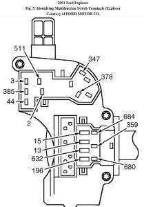 2001 Ford Explorer Signal and Brake Light Failure
