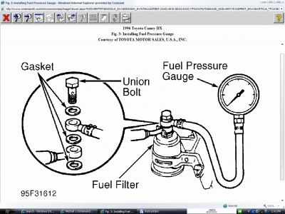 1993 Toyota Camry Fuel Pump Relay Location Pictures to Pin