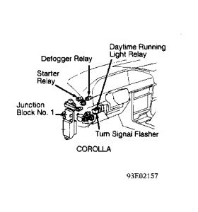 1992 Toyota Corolla Engine Sometimes Start and Not Start