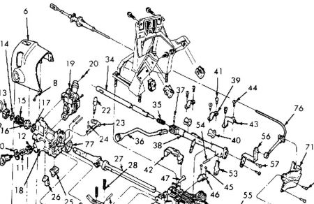 Service manual [Repairing The Linkage On A 1994 Lincoln