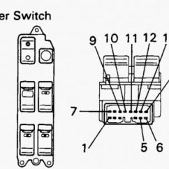 Electric Window Motor Wiring Diagram For Home 1989 Toyota Camry Will Not Do Down