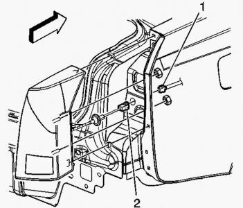 2004 Cadillac CTS LR Brake Light: Electrical Problem 2004