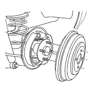 2005 Chevy Equinox Rear Brake Drum Removal: How to Remove