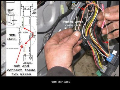 2001 Ford Taurus Driver's Power Window Electrical Problem 2001