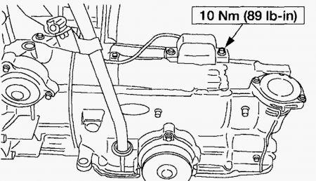 Speed Sensor: Six Cylinder Two Wheel Drive Automatic