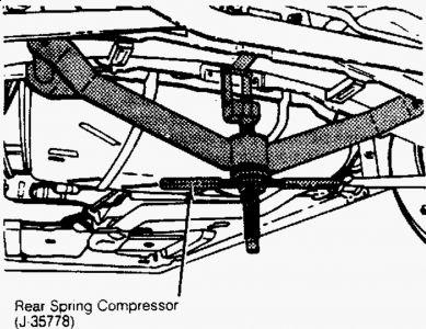 1993 Oldsmobile Cutlass 1993 Olds Cutlass-suspension
