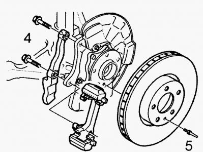 1999 Volvo S80 Brake Pads and Rotors: I Need Step-by-step