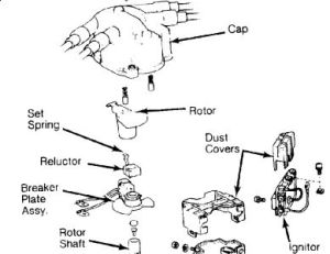 Firing order for 1987 toyota tercel 1500cc