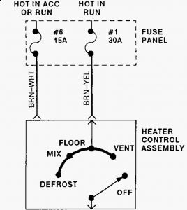 1993 Ford Bronco Heater Doesn't Work: Heater Problem 1993