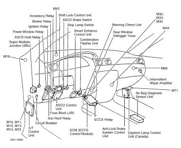 1997 Nissan Sentra: Electrical Problem 1997 Nissan Sentra