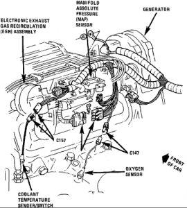 1987 Oldsmobile Ciera O2 Sensor: 1987 Oldsmobile Ciera 6