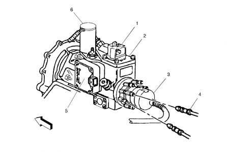 P0251 Injection Pump Fuel Metering Control