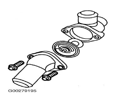 1998 Ford Contour Thermostat: Where Is Thermostat Located