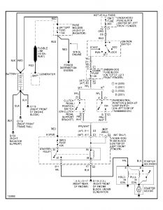Starter Wiring Diagram: Electrical Problem 4 Cyl Two Wheel