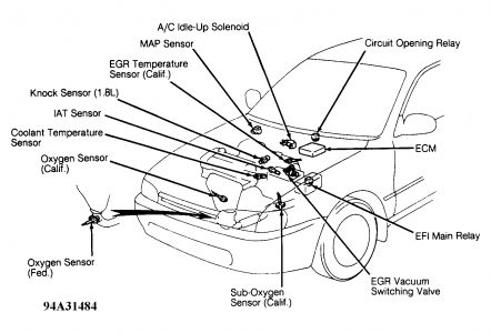 97 4runner Starter Wiring Diagram KA24DE Wiring Harness
