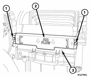 2008 Dodge Caliber Cabin Air Filter: How to I Take Out My