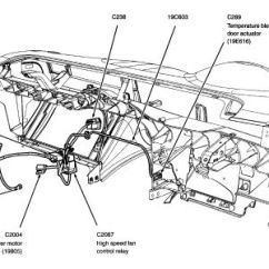 2002 Ford Explorer Parts Diagram Fisher Minute Mount Wiring Blend Door Great Installation Of 2004 Clicking Noise And No Longer Working Rh 2carpros Com Hatch 1997