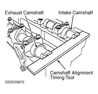 2000 ford escort timing belt marks engine mechanical