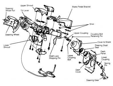 1995 Dodge Caravan Ignition Switch: Interior Problem 1995