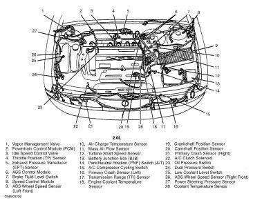 Vacuum Hose Diagram For 1998 Ford Contour V6, Vacuum, Free