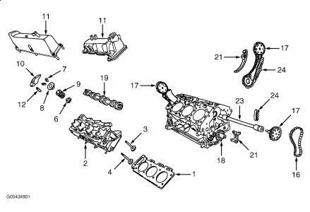2000 Ford Explorer Timing Belt: Engine Mechanical Problem