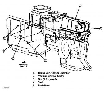 1996 Ford Ranger Heater Core: How Do You Change the Heater