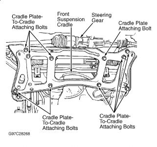 Rack and Pinion Steering Installation: Six Cylinder Front