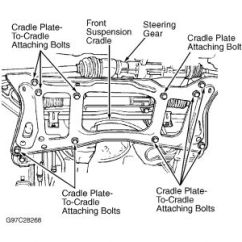 2 Way Intermediate Wiring Diagram Arco Phase Converter Rack And Pinion Steering Installation: Six Cylinder Front Wheel ...