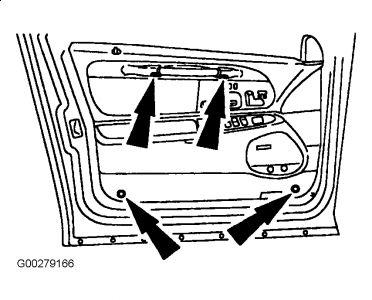 1999 Lincoln Town Car Window Motor: 1999 Lincoln Town Car