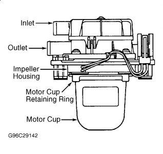 2000 Ford Taurus Air Pump: Engine Mechanical Problem 2000