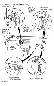 1999 Honda Accord Fuel Pump Relay Location Pictures to Pin