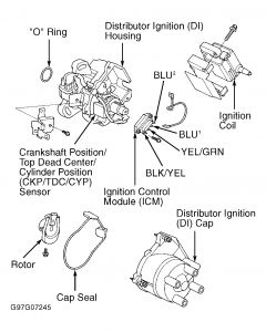 Honda Civic Obd1 Distributor Wire Diagram, Honda, Free