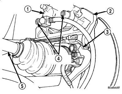 2006 Dodge Caravan Rear Disk Brakes Removal: How Do You