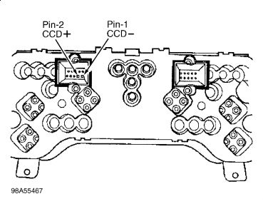 1999 Jeep Cherokee Instrument Cluster: Instrument Cluster