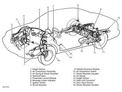 Lincoln Ls Front Suspension Diagram Lincoln LS Under Hood