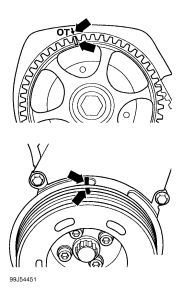 2001 Volkswagen Beetle TIMING MARKS: Engine Mechanical