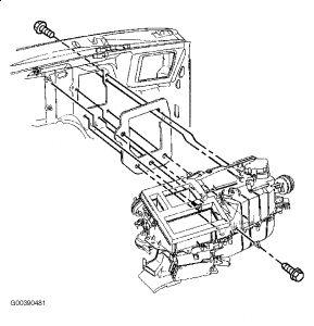 1998 Chevy Blazer Heater Core: Heater Problem 1998 Chevy