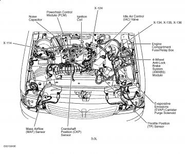 Mazda B4000 Engine Diagrams Lincoln Continental Engine
